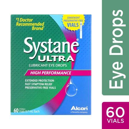 """<p><strong>Systane</strong></p><p>walmart.com</p><p><strong>$24.97</strong></p><p><a href=""""https://go.redirectingat.com?id=74968X1596630&url=https%3A%2F%2Fwww.walmart.com%2Fip%2F49025082&sref=https%3A%2F%2Fwww.goodhousekeeping.com%2Fhealth-products%2Fg31788467%2Fbest-eye-drops-for-allergies%2F"""" target=""""_blank"""">Shop Now</a></p><p>As a first line of defense, it's always great to carry around artificial tears — which are thicker than saline drops — to literally wash the allergens out of your eyes and soothe dryness. If you buy them in individual, preservative-free vials, you can use as often as needed. If you choose the <a href=""""https://www.cvs.com/shop/systane-ultra-lubricant-eye-drops-prodid-1060136"""" target=""""_blank"""">less-expensive bottled option</a>, which contains preservatives, limit to 4 squirts a day.</p>"""