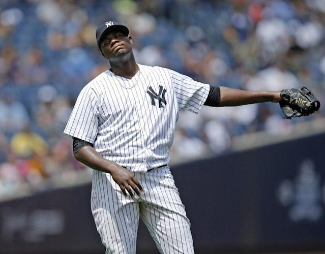 Michael Pineda's season might be over after an elbow injury. (AP)