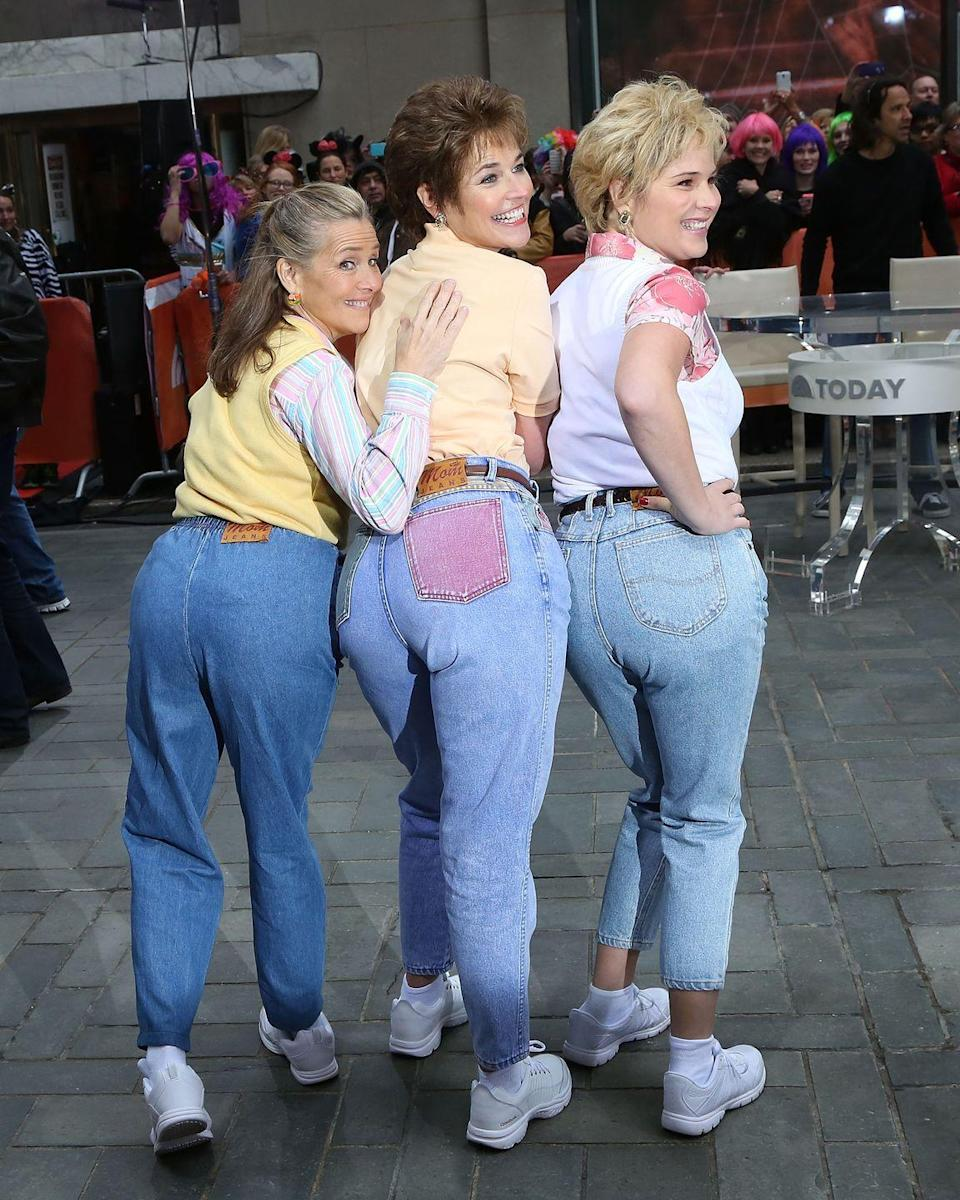 <p>As a reminder that not all joint costumes have to come in twos, the women of<em> Today </em>wowed us with their '80s mom jeans looks.</p>