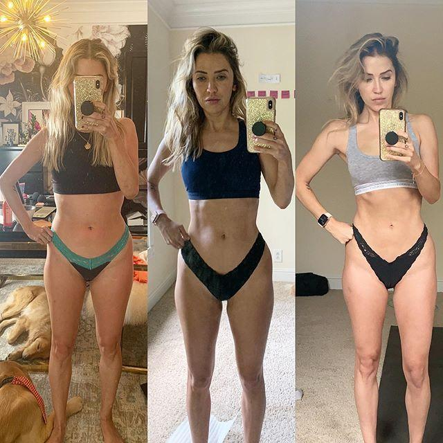 """<p>The former <em>Bachelorette</em> is familiar with the reality show routine and <a href=""""https://www.womenshealthmag.com/fitness/a33561918/kaitlyn-bristowe-workout-dancing-with-the-stars/"""" rel=""""nofollow noopener"""" target=""""_blank"""" data-ylk=""""slk:got a head start on upping her fitness"""" class=""""link rapid-noclick-resp"""">got a head start on upping her fitness</a> before setting foot in the ballroom in 2020. She shared an update on her progress and plan on <a href=""""https://www.instagram.com/p/CDrTnH6jeQq/"""" rel=""""nofollow noopener"""" target=""""_blank"""" data-ylk=""""slk:Instagram"""" class=""""link rapid-noclick-resp"""">Instagram</a>: """"I've been working so hard on my mental and physical health over the last 14 weeks. Reading, meditating, resting, working out, lifting heavy, Pilates, boxing, going to physical therapy for mobility and strength, getting sports massages, dry needling. My body at 35 feels strong and ready to dance.""""</p>"""