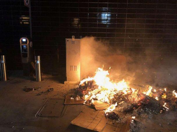 PHOTO: Richard Smallets allegedly set fire to a cardboard box while a homeless man was sleeping in it, Sept. 12, 2019, in Glendale, Calif. (Glendale Police)