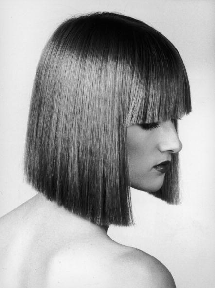 <p>While teased and curly hair dominated the '80s, straight hair still had a moment. Sleek looks were considered cutting edge, especially ones that were precisely trimmed and featured eye-grazing bangs. </p>