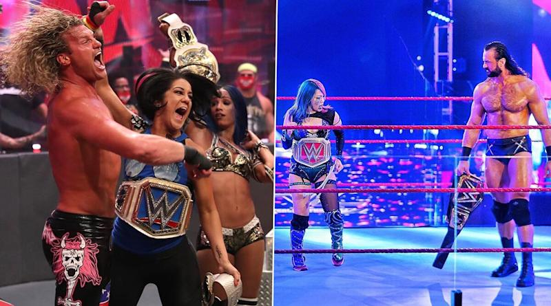 WWE Raw June 29, 2020 Results and Highlights: Dolph Ziggler, Sasha Banks Defeats Drew McIntyre, Asuka in Mixed Tag Team Match; Ric Flair Delivers Randy Orton's Message to Big Show (View Pics)