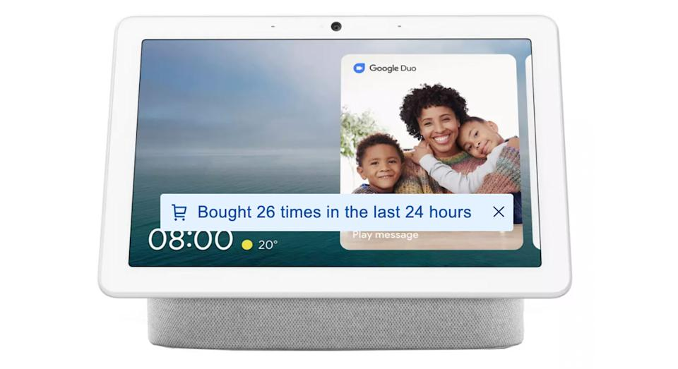 Google Nest Hub Max Smart Display