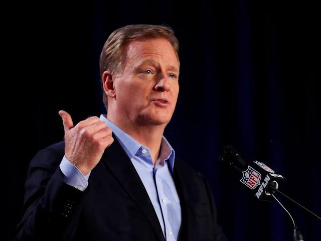 Roger Goodell has come under criticism from NFL players: Getty