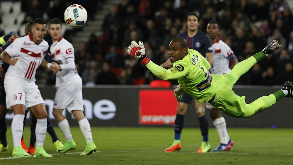 Vincent Enyeama Paris SG Lille Ligue 1 07022017