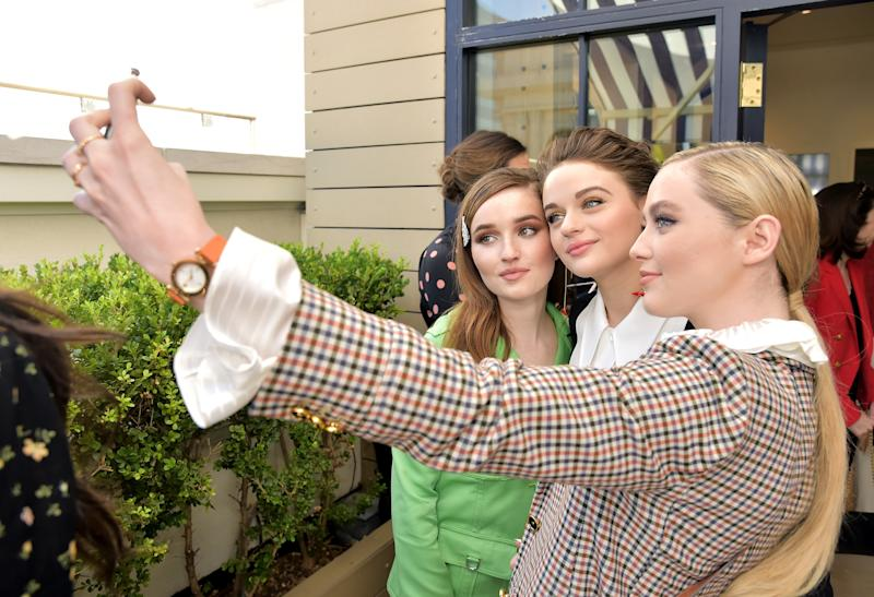 Kaitlyn Dever, Joey King, and Kathryn Newton.