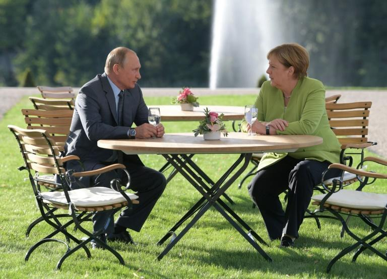 Putin is expected to give Merkel a warm reception in what looks set to be their final official meeting