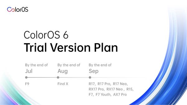 OPPO Launches Android Pie-Based ColorOS 6 Open Trial Version for F9