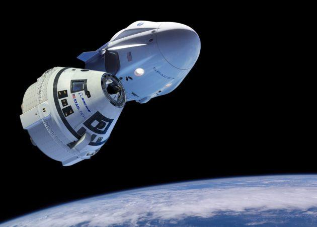 SpaceX, Boeing (and NASA) Push Back 1st Test Launches of Private Spaceships