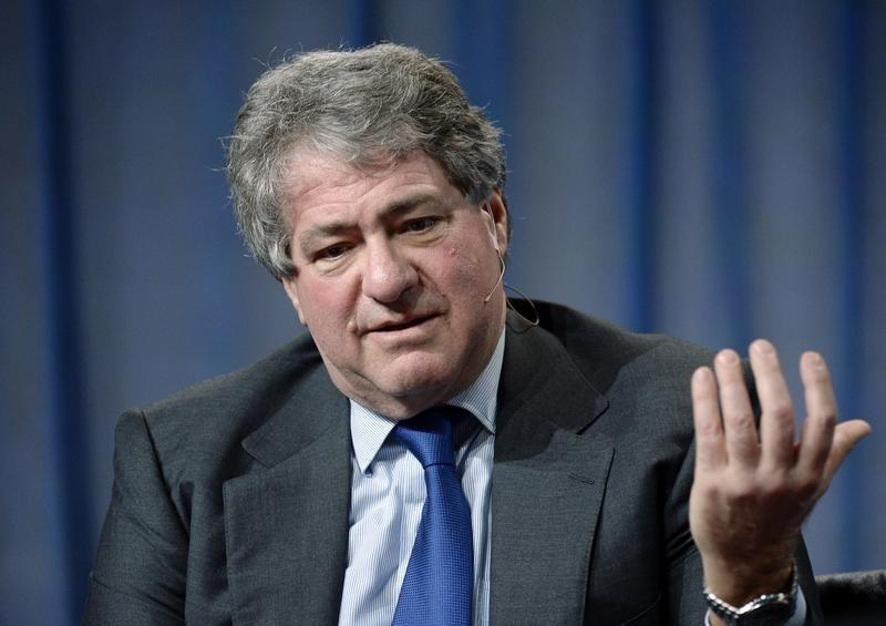 Leon Black, Chairman and CEO Apollo Global Management, LLC, takes part in Private Equity: Rebalancing Risk session during the 2014 Milken Institute Global Conference in Beverly Hills