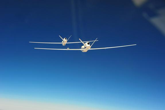 Military Test: Drones Could Refuel Themselves Mid-Air