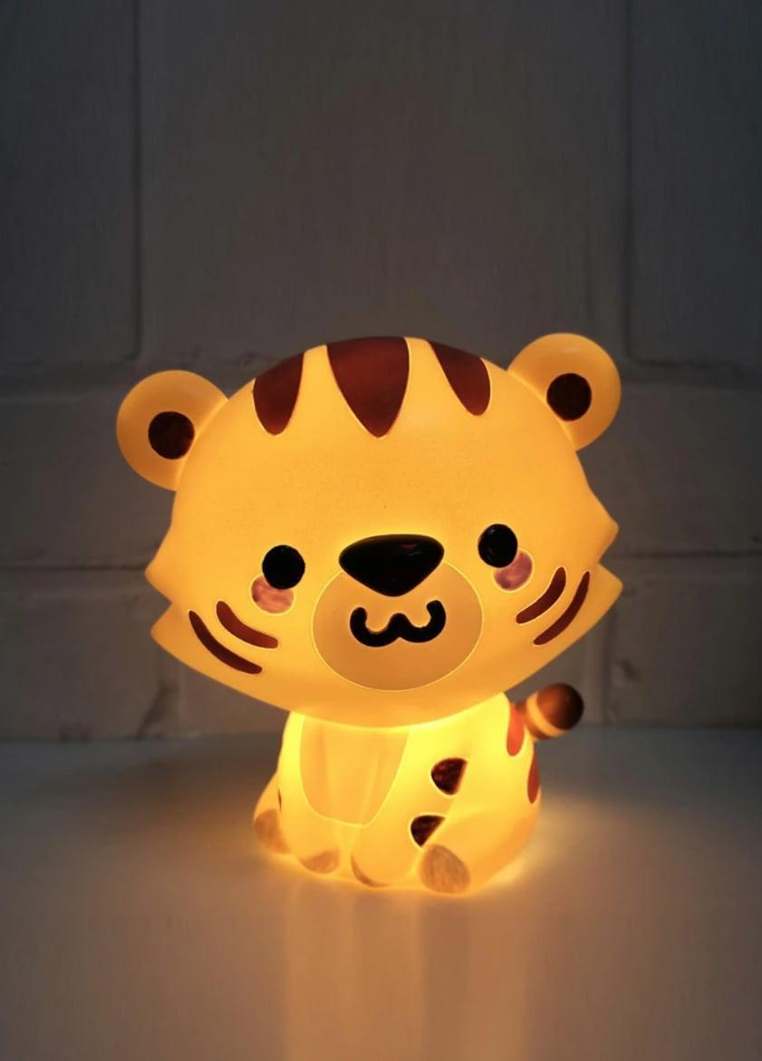 <p>This <span>Smoko Jojo Tiger Ambient Light</span> ($16) is just too cute.</p>