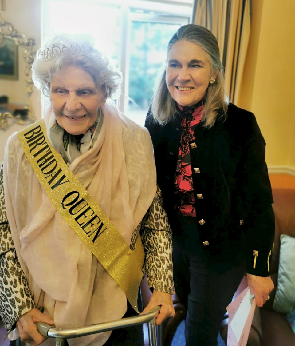 Margaret Bradshaw has begun claiming her pension aged 100. (SWNS)