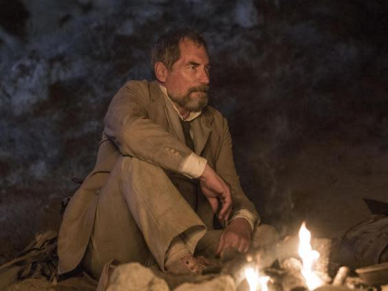 Dalton as weather-beaten explorer Malcolm Murray in season three of 'Penny Dreadful' (Jonathan Hession/Showtime)