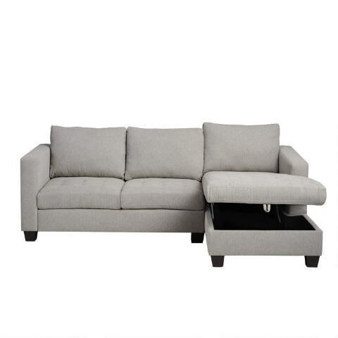 """<h2>Trudeau Sectional Sofa With Storage</h2><br>Back to the whole modular furniture thing: This cloudy gray sectional works as a storage container, and you'd never know it. <br><br><br><strong>Cost Plus World Market</strong> Trudeau Sectional Sofa With Storage, $, available at <a href=""""https://go.skimresources.com/?id=30283X879131&url=https%3A%2F%2Fwww.worldmarket.com%2Fproduct%2Fright%2Bfacing%2Btrudeau%2Bsectional%2Bsofa%2Bwith%2Bstorage.do"""" rel=""""nofollow noopener"""" target=""""_blank"""" data-ylk=""""slk:Cost Plus World Market"""" class=""""link rapid-noclick-resp"""">Cost Plus World Market</a>"""