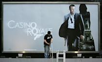 Craig's debut as Bond was in the 2006 film 'Casino Royale' (AFP/LEON NEAL)