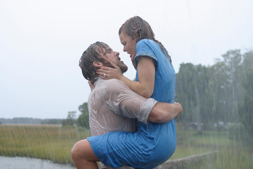 """<a href=""""http://movies.yahoo.com/movie/contributor/1804035474"""">RYAN GOSLING</a> & <a href=""""http://movies.yahoo.com/movie/contributor/1807791956"""">RACHEL McADAMS</a>  <a href=""""http://movies.yahoo.com/movie/1808467146/info"""">The Notebook</a> (2004)   Ryan and Rachel burn up the screen in this beloved romance based on a novel by Nicolas Sparks (who also wrote """"The Last Song""""). But apparently, they did not get along at all while shooting the film, with one dispute breaking down into a screaming match. But they saw each other again two years later, and <a href=""""http://www.guardian.co.uk/culture/2007/feb/18/awardsandprizes.oscars"""">according to Gosling</a>, they """"started getting the idea that maybe we were wrong about each other."""" They were together through early 2007."""