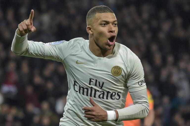 Kylian Mbappe has been the standout in PSG's run to the title with Neymar again injured at a crunch point in the campaign