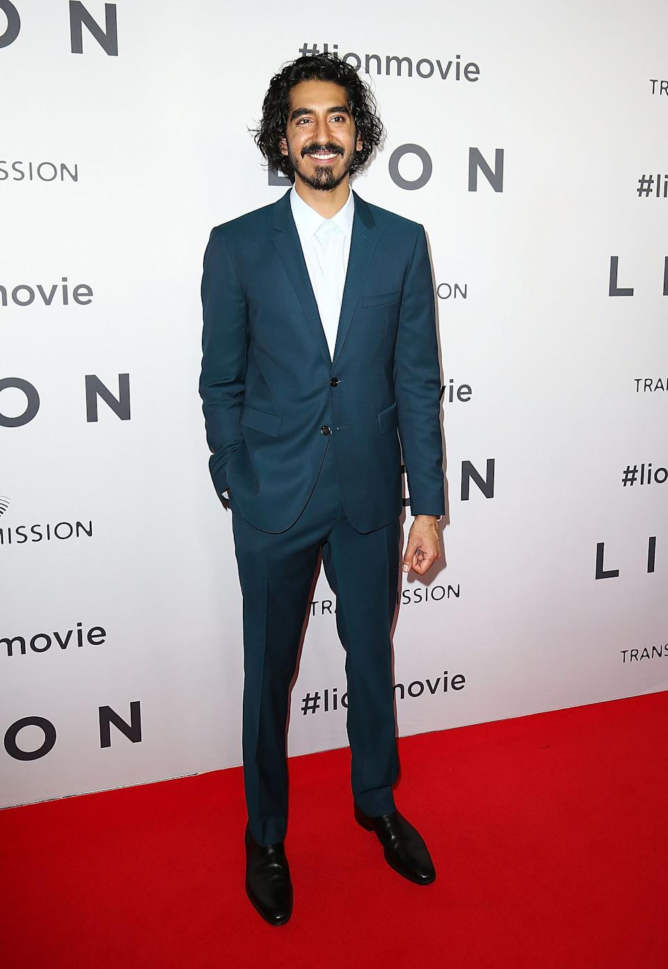 "Patel at the Australian premiere of ""Lion"" at State Theatre in Sydney on Dec. 19, 2016."