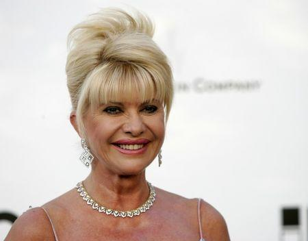 FILE PHOTO: Ivana Trump arrives at amfAR's Cinema Against AIDS 2006 event in France, May 25, 2006. REUTERS/Mario Anzuoni/File Photo