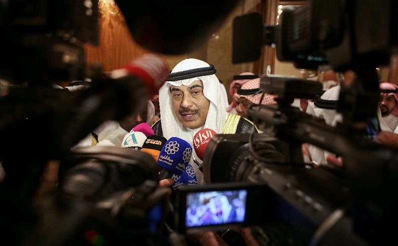 Kuwait's Foreign Minister Sheikh Sabah Khaled Al-Sabah has criticised the Philippines for expanding a ban on its nationals working in the Gulf country (AFP Photo/Yasser Al-Zayyat)