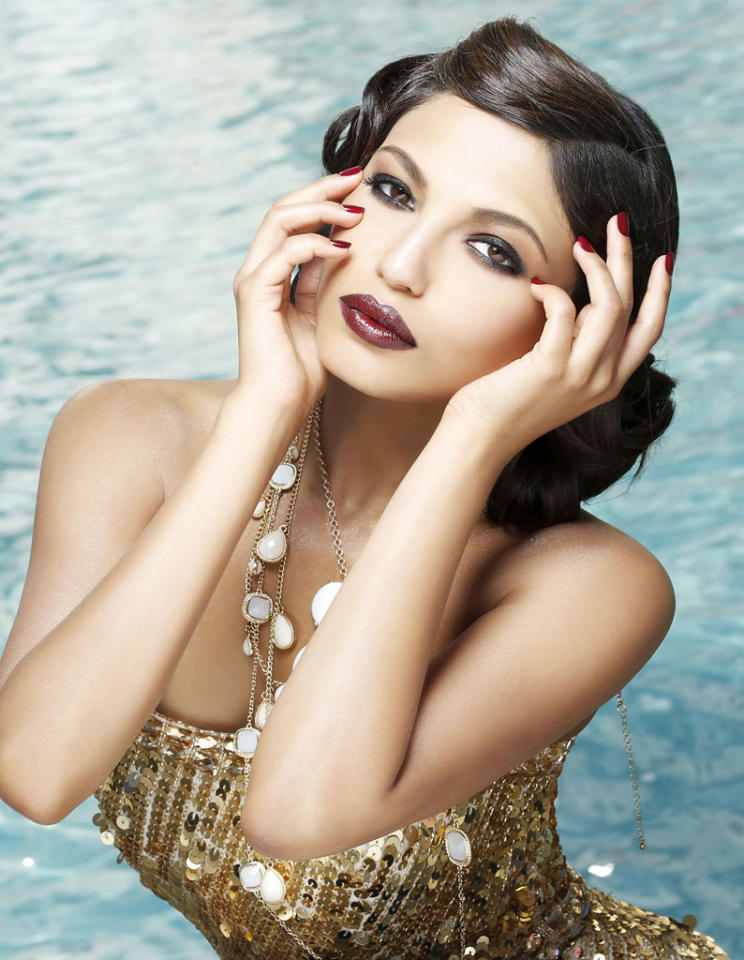 Miss Mississippi USA 2013, Paromita Mitra, poses for fashion photographer Fadil Berisha in a 1920's Great Gatsby inspired wardrobe by Sherri Hill at the Planet Hollywood Resort and Casino, in Las Vegas Nevada.  Tune in to the crowning moment LIVE on NBC starting at 9:00 PM ET on June 16, 2013 from PH Live.