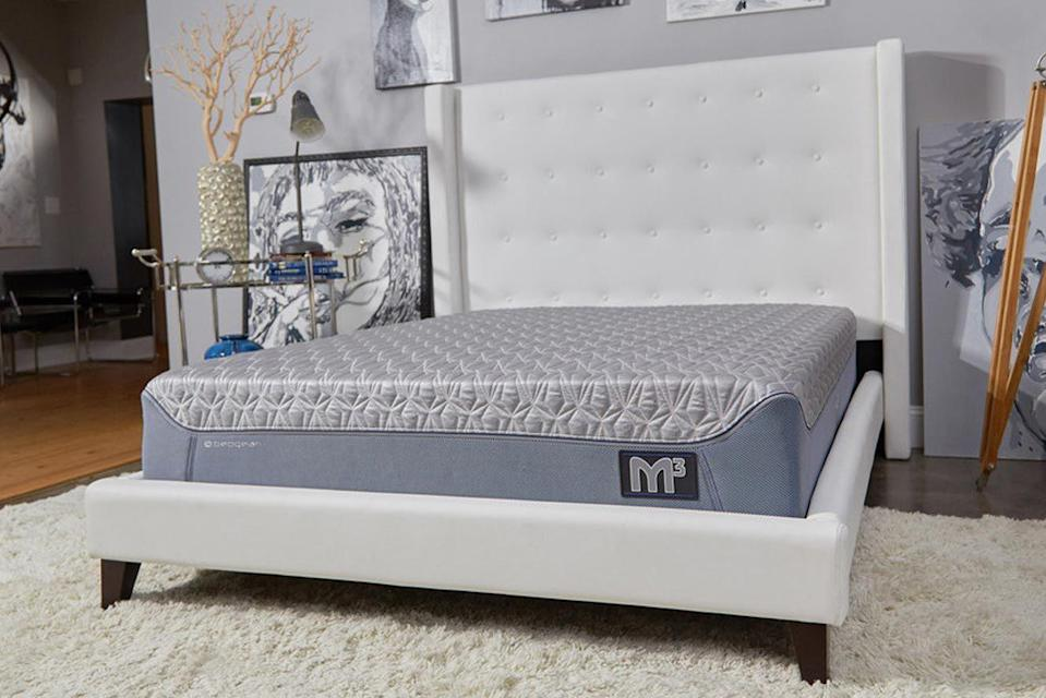 """<p><strong>Bedgear</strong></p><p>bedgear.com</p><p><strong>$1999.00</strong></p><p><a href=""""https://www.bedgear.com/m3-mattress.html"""" rel=""""nofollow noopener"""" target=""""_blank"""" data-ylk=""""slk:Shop Now"""" class=""""link rapid-noclick-resp"""">Shop Now</a></p><p>It's pricey, but this hybrid bed is personalized and can grow with you: the <strong>innersprings on each side can be removed and replaced with firmer or softer options</strong>. Choose from four firmness levels per side and the bed gets shipped in multiple boxes. This model is fairly new so there aren't as many people using it to provide feedback just yet, but we've had several testers try it out and so far they're happy with it. </p><p>One even said """"I laid down on it and almost fell asleep, which never happens. The whole unboxing part was pretty fun and super easy too."""" They also thought modular design would be good for moving homes, so this bed's ideal if you're frequently relocating.</p><p><strong>Trial period</strong>: 100 nights</p>"""