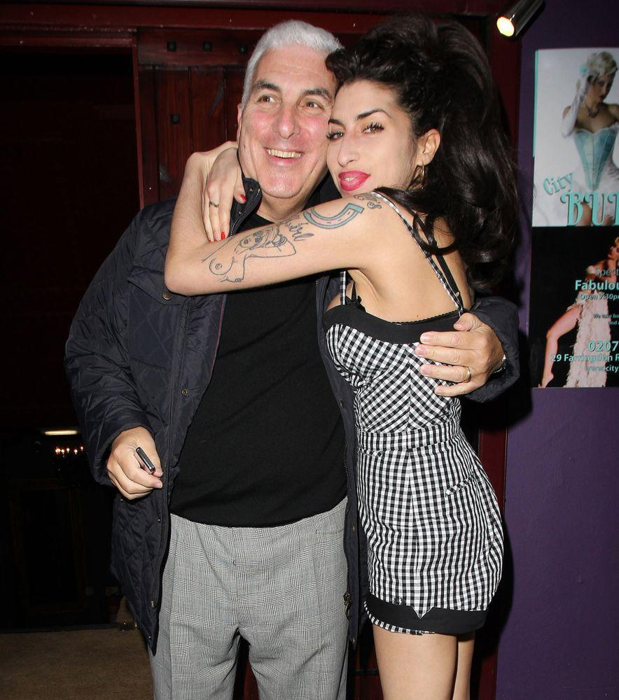 Amy Winehouse and her dad