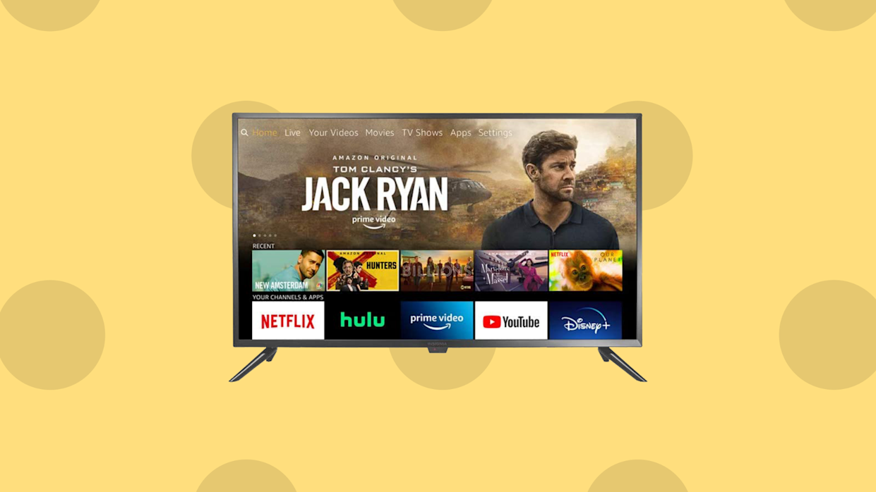 Nothing cheesy about it: Just $100 gets you a top-rated HDTV! (Photo: Amazon)