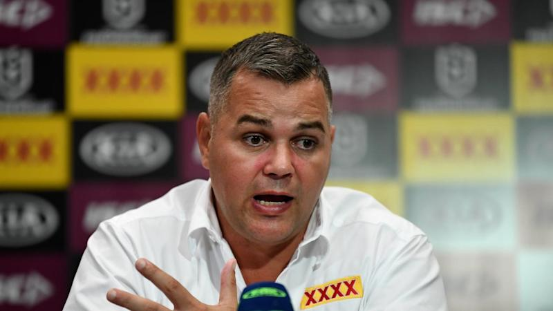 Brisbane coach Anthony Seibold has vowed to fight on and turn around the struggling Broncos