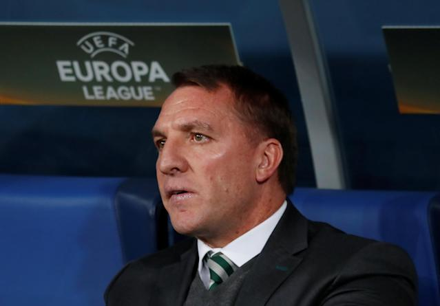 Soccer Football - Europa League Round of 32 Second Leg - Zenit Saint Petersburg vs Celtic - Stadium St. Petersburg, Saint Petersburg, Russia - February 22, 2018 Celtic manager Brendan Rodgers REUTERS/Maxim Shemetov
