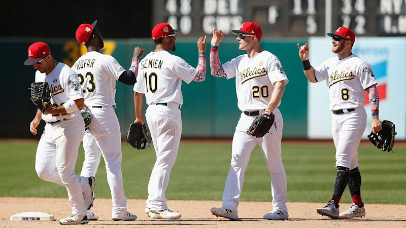Athletics Closing In On Rays In Wild Card Race