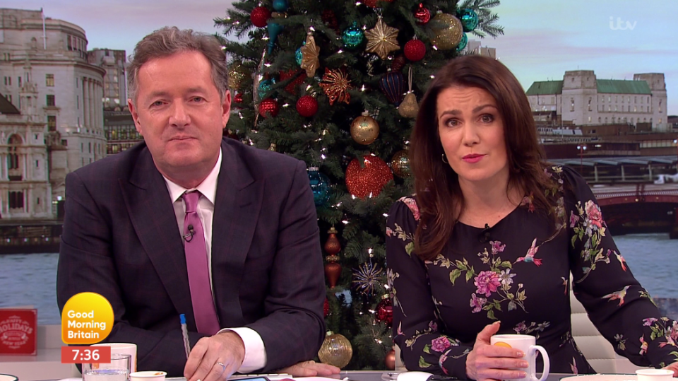 Piers did not hold back. Copyright: [ITV]