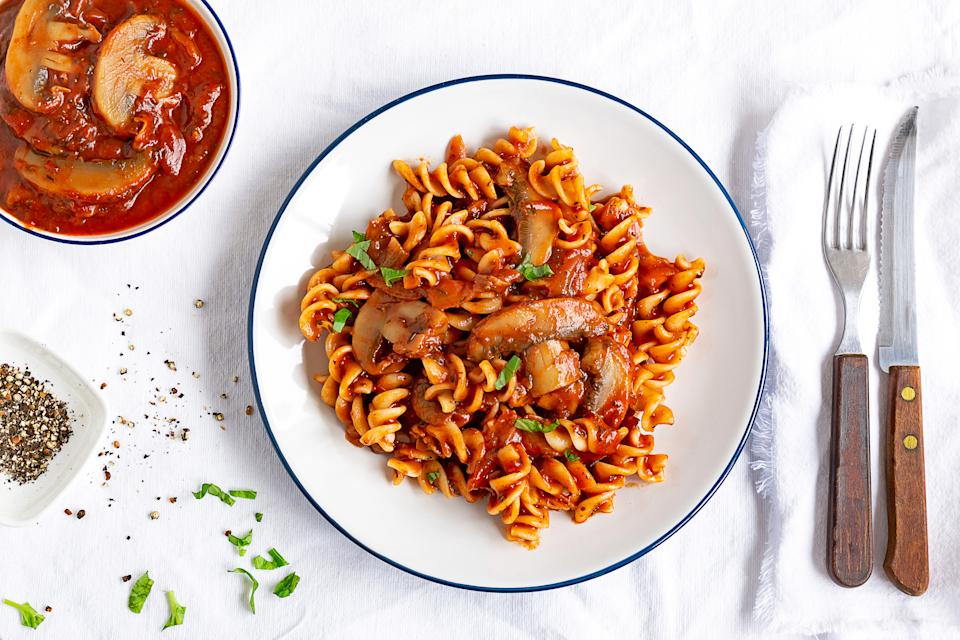 Fusilli is a popular choice amongst British people. (Getty Images)