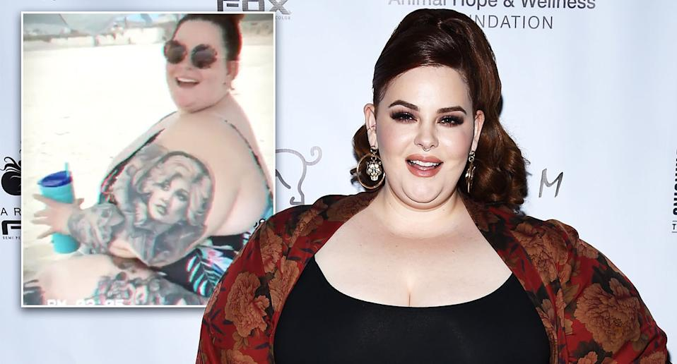 Tess Holliday has hit back at trolls after posting a swimsuit picture. [Photo: Getty/Instagram]