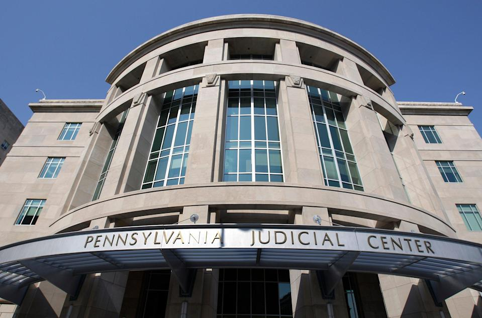 Eight Pennsylvania Republicans are suing to have legislation that allowed mail-in voting ruled unconstitutional, which would invalidate millions of votes in the 2020 election.  (AP)