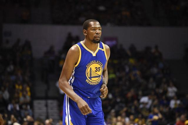 Like most of his moves, Kevin Durant's decision to join Golden State was purely about basketball. (AP)