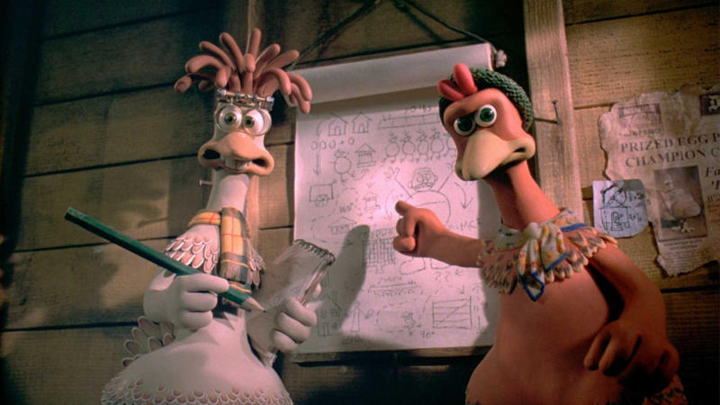 'Chicken Run'. (Credit: Aardman/Dreamworks/Pathé)