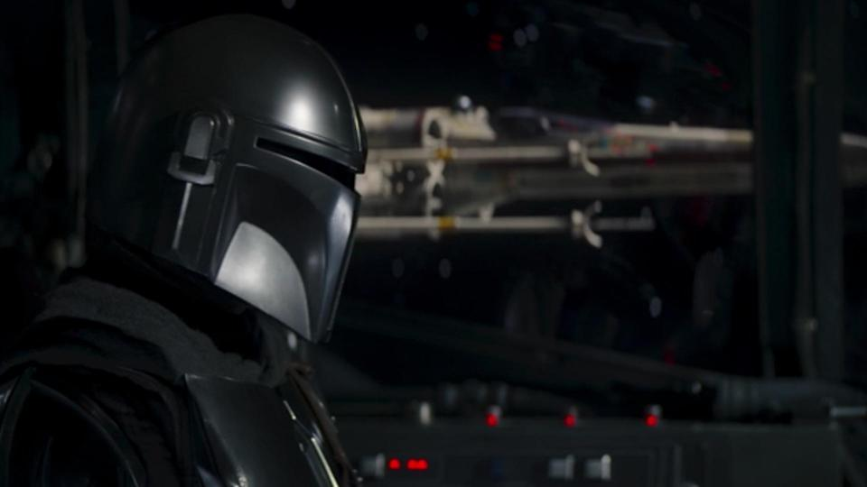 """<p> <strong>Episode 2</strong> </p> <p> Hearing """"May the Force Be With You"""" is nothing new in Star Wars, but Mando's frosty chat with the New Republic pilots (one of them is a familiar face as you'll soon see) adds an extra dimension to the line. It's Din Djarin's response after that's most pleasing to long-term fans. He says """"And to you"""" in response, something that has (remarkably) never been uttered before in canon but is a favourite reply of Star Wars fans everywhere. </p>"""
