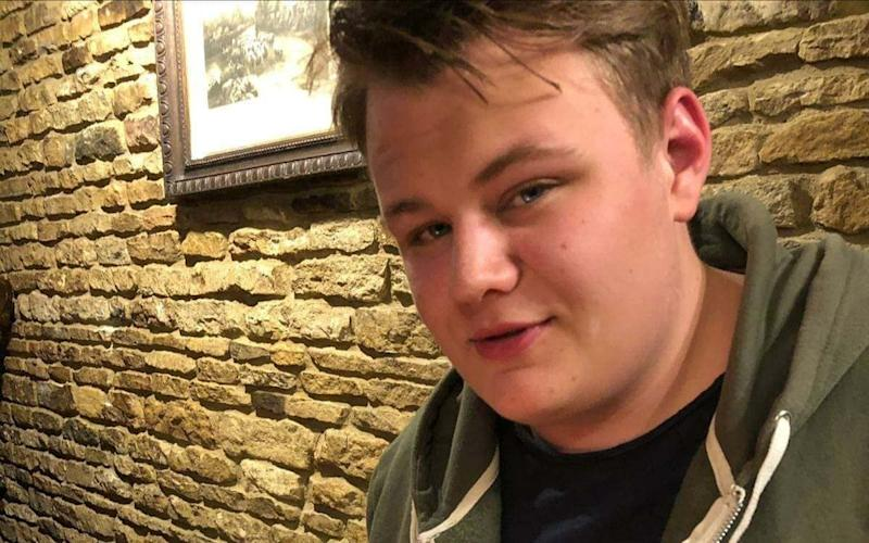 HarryDunn, 19,died when his motorbike crashed into a Volvo outside an RAF military base in Northamptonshire on August 27 - Pix supplied as a technical service by Tim Stewart News Limited. No copyright inferred or implied.