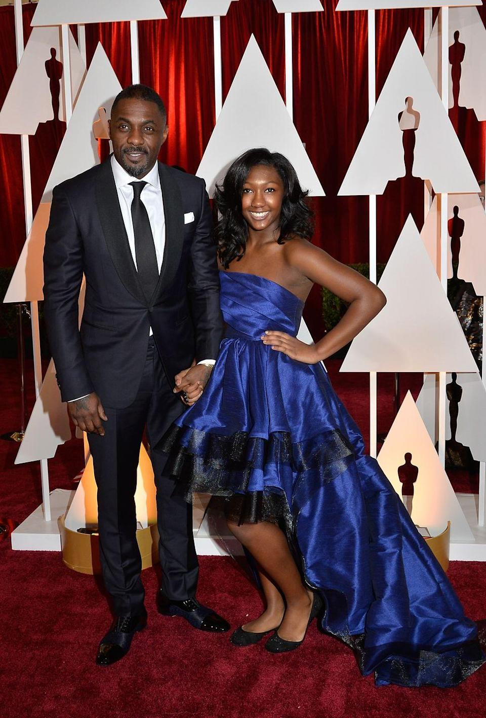 "<p>Elba celebrated his <a href=""http://madamenoire.com/1011042/idris-elba-daughter/"" rel=""nofollow noopener"" target=""_blank"" data-ylk=""slk:daughter Isan's Sweet 16"" class=""link rapid-noclick-resp"">daughter Isan's Sweet 16</a> in 2018 with a big party. His son Winston is 12 years younger than Isan. In 2010 (four years before Winston was born), Elba <a href=""http://www.eonline.com/fr/news/460777/idris-elba-reveals-child-he-thought-he-d-fathered-was-not-his-son-says-it-s-tragic"" rel=""nofollow noopener"" target=""_blank"" data-ylk=""slk:thought he'd fathered another child"" class=""link rapid-noclick-resp"">thought he'd fathered another child</a> with the woman he was seeing. She gave birth to a boy, and Elba thought for sure it was his son—but his friends and family thought otherwise. A paternity test proved they were right. </p><p>""It wasn't immediately obvious—well, it was, because he didn't look like me. But it wasn't immediately obvious what had gone down,"" he told <em><a href=""https://www.gq.com/story/idris-elba-cover-interview-october-2013"" rel=""nofollow noopener"" target=""_blank"" data-ylk=""slk:GQ"" class=""link rapid-noclick-resp"">GQ</a></em> in 2013. ""To be given that and then have it taken away so harshly was like taking a full-on punch in the face: POW.""</p>"