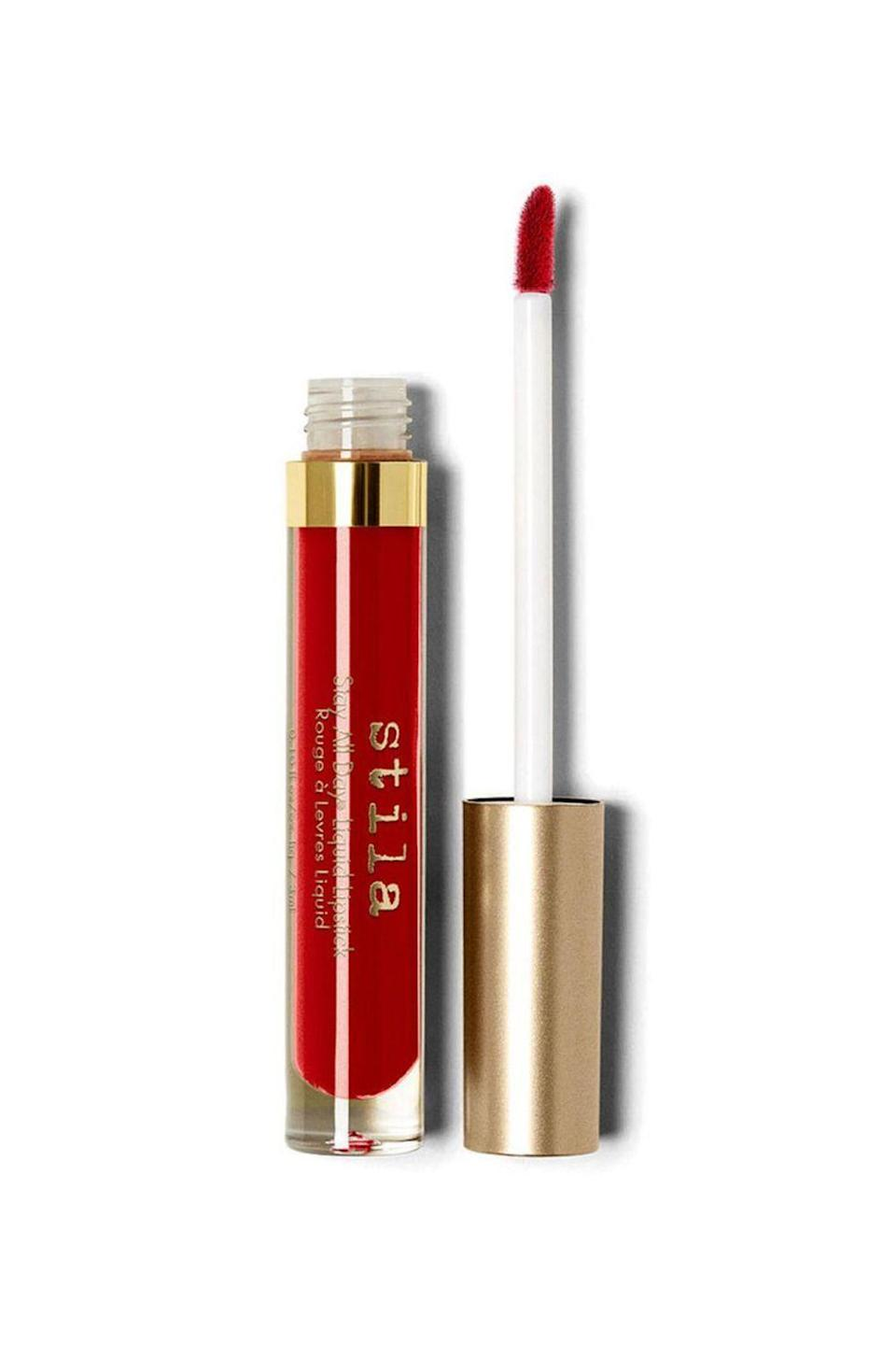 "<p><strong>Stila</strong></p><p>ulta.com</p><p><strong>$22.00</strong></p><p><a href=""https://go.redirectingat.com?id=74968X1596630&url=https%3A%2F%2Fwww.ulta.com%2Fstay-all-day-liquid-lipstick%3FproductId%3DxlsImpprod4930039&sref=https%3A%2F%2Fwww.oprahmag.com%2Fbeauty%2Fskin-makeup%2Fg34963135%2Fbest-red-lipsticks%2F"" rel=""nofollow noopener"" target=""_blank"" data-ylk=""slk:Shop Now"" class=""link rapid-noclick-resp"">Shop Now</a></p><p>Regardless of your politics, there is probably one thing we can all agree on: <a href=""https://www.oprahmag.com/entertainment/tv-movies/a33637079/who-is-alexandria-ocasio-cortez/"" rel=""nofollow noopener"" target=""_blank"" data-ylk=""slk:Rep. Alexandria Ocasio-Cortez"" class=""link rapid-noclick-resp"">Rep. Alexandria Ocasio-Cortez</a> (a.k.a. AOC) knows how to rock a bright, bold red lip. And this is the statement-making shade that gets her vote: ""One of the things that I love about a liquid lipstick like this is formulas that stay<em> all day</em>, because I really don't have time to be running in and out of the bathroom to be doing touch-ups,"" she told <em><a href=""https://www.youtube.com/watch?v=bXqZllqGWGQ"" rel=""nofollow noopener"" target=""_blank"" data-ylk=""slk:Vogue"" class=""link rapid-noclick-resp"">Vogue</a></em>. ""And I even I feel a little more oomph with a red on."" </p>"