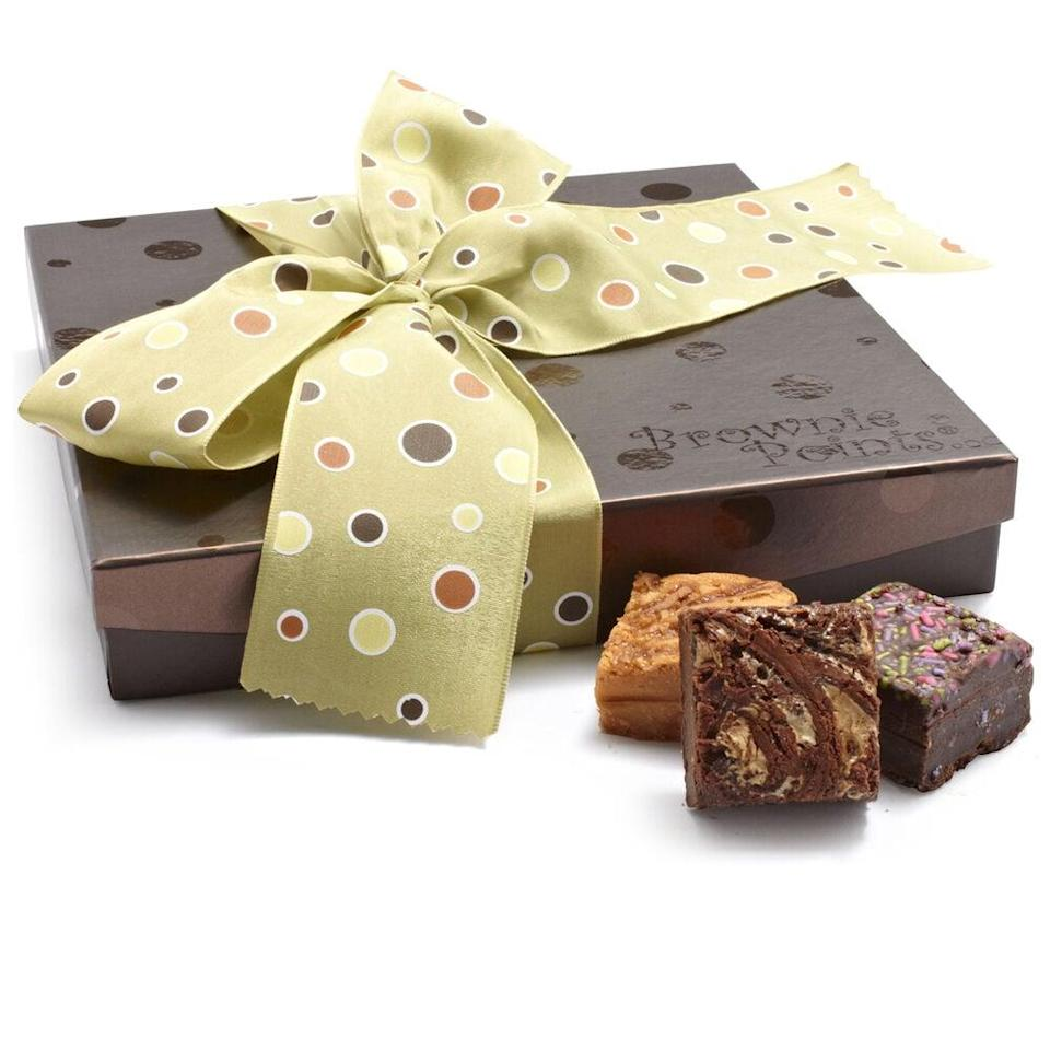 <p>We'll happily try each flavor in this <span>Brownie Points Baby Brownies Sweet 16 Gift Box</span> ($40).</p>