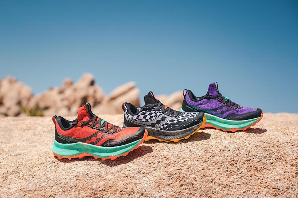 Saucony Endorphin Trail. - Credit: Courtesy of Saucony