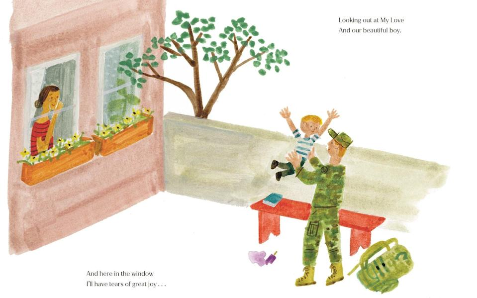 Remind you of anyone? The Bench looks at the bond between father and son - Random House Children's Boo/AP