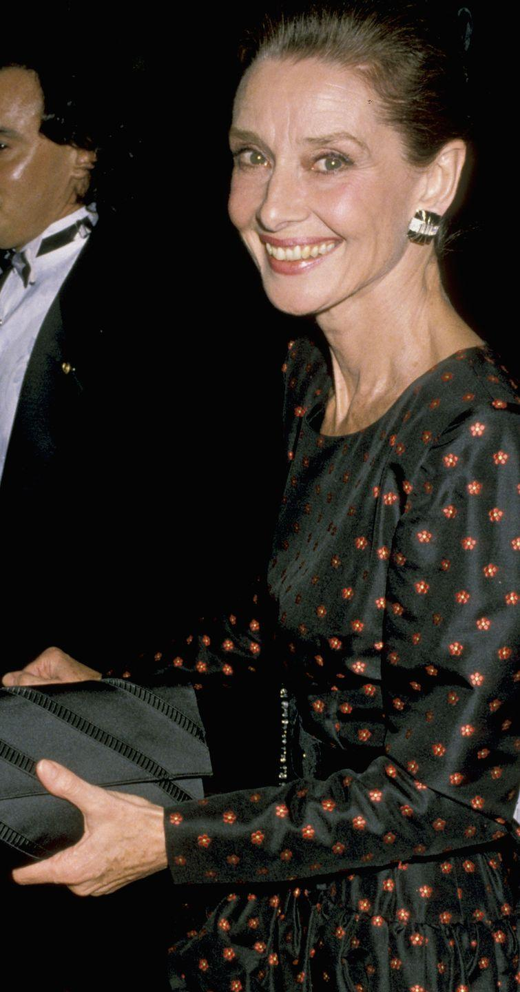"""<p>The """"Breakfast at Tiffany's"""" star sparkled in any decade, and the late 80s were no exception.</p>"""