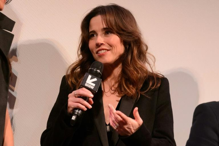 "Linda Cardellini, who plays a social worker investigating the disappearance of two children in ""The Curse of La Llorona,"" is seen here in a March 16, 2019 file photo taken at the film's world premiere  in Austin, Texas"