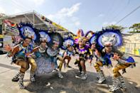 """<p><strong>When</strong>: Feb. 22-25</p> <p>Held in this port city near the Caribbean Sea, <a href=""""https://www.carnavaldebarranquilla.org"""" class=""""link rapid-noclick-resp"""" rel=""""nofollow noopener"""" target=""""_blank"""" data-ylk=""""slk:Carnaval de Barranquilla"""">Carnaval de Barranquilla</a> can hold its own against Rio in attracting visitors with its four-day extravaganza. In honoring Colombia's indigenous folklore and African culture, this carnaval puts on different types of events that bring out people from all walks of life and talents, incorporating dance, singing, and even comedy. Its first day, called Batalla de Flores (Battle of Flowers), features a grand procession of floats led by an appointed Queen of the Carnaval, plus folk and dancing groups. Its last day is marked by Joselito se va con las cenizas (meaning """"Joselito leaves with the ashes""""), when a character named Joselito is given a funeral procession; his passing marks the end of the occasion.</p>"""
