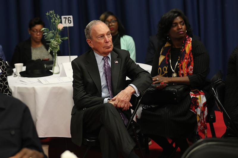 Bloomberg's Path Clouded by Biden's South Carolina Win